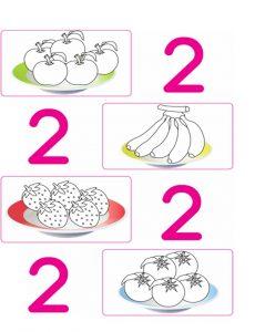 number 2 worksheet