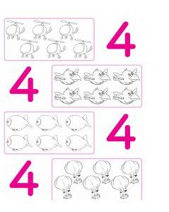 number 4 worksheet