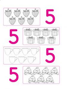 number 5 worksheet
