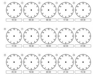time worksheet,  временная практика ,  práctica del tiempo ,  pratique du temps,