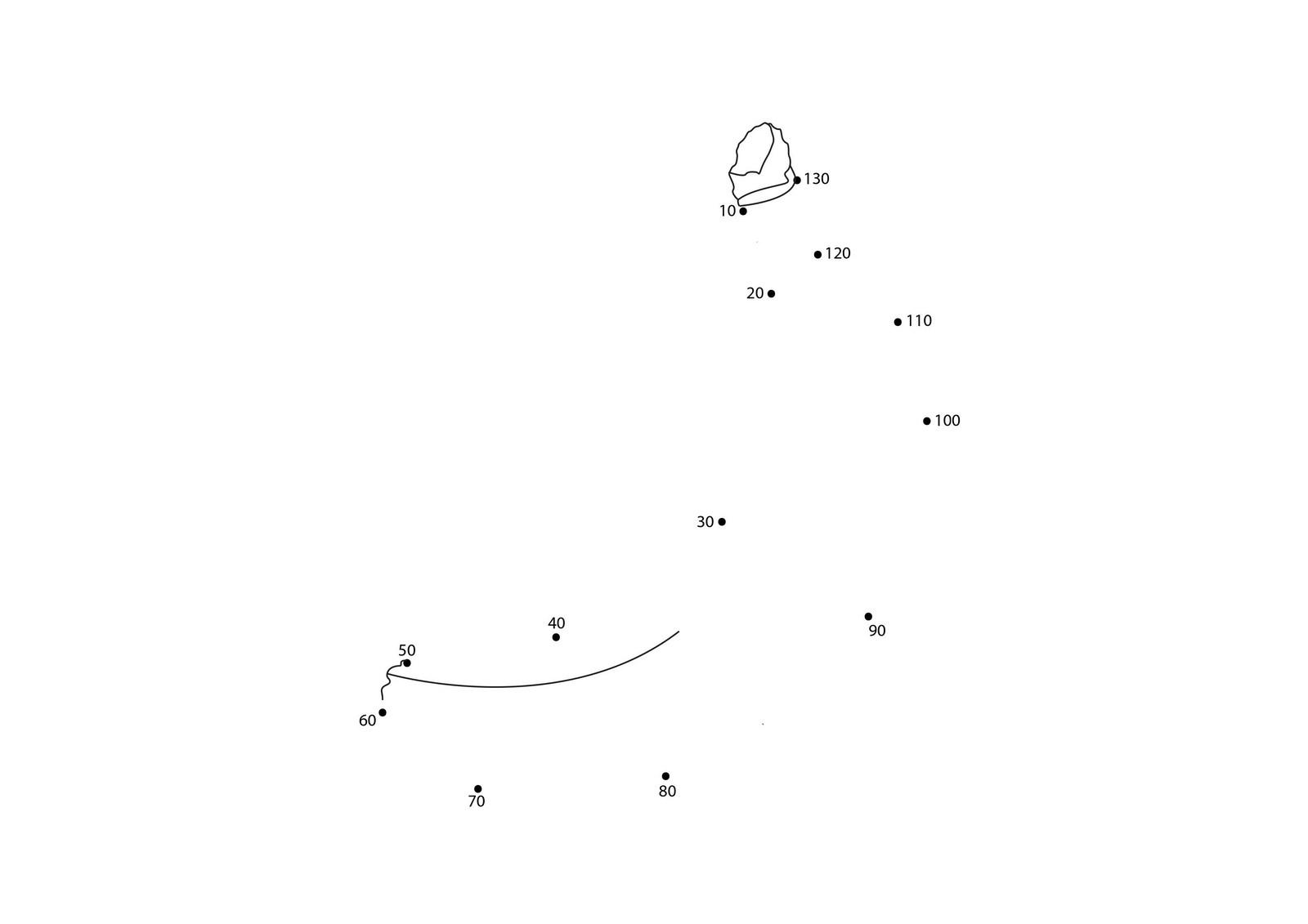 Skip Counting Dot To Dot Worksheets (11)