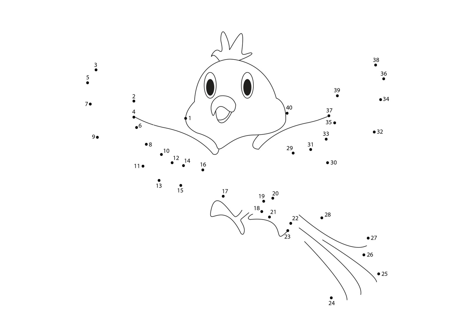 skip counting dot to dot worksheets (4) - Free Math Worksheets