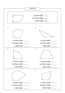 types angles worksheet, a right angles worksheet,