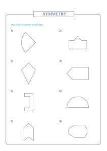 symmetricle shapes , symmetry worksheet,  práctica de simetría ,  Symmetrie üben , симметрия ,  pratique de la symétrie ,