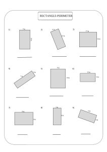 perimeter of rectangle worksheet ,периметр прямоугольника,  perímetro de rectángulo,  périmètre du rectangle,