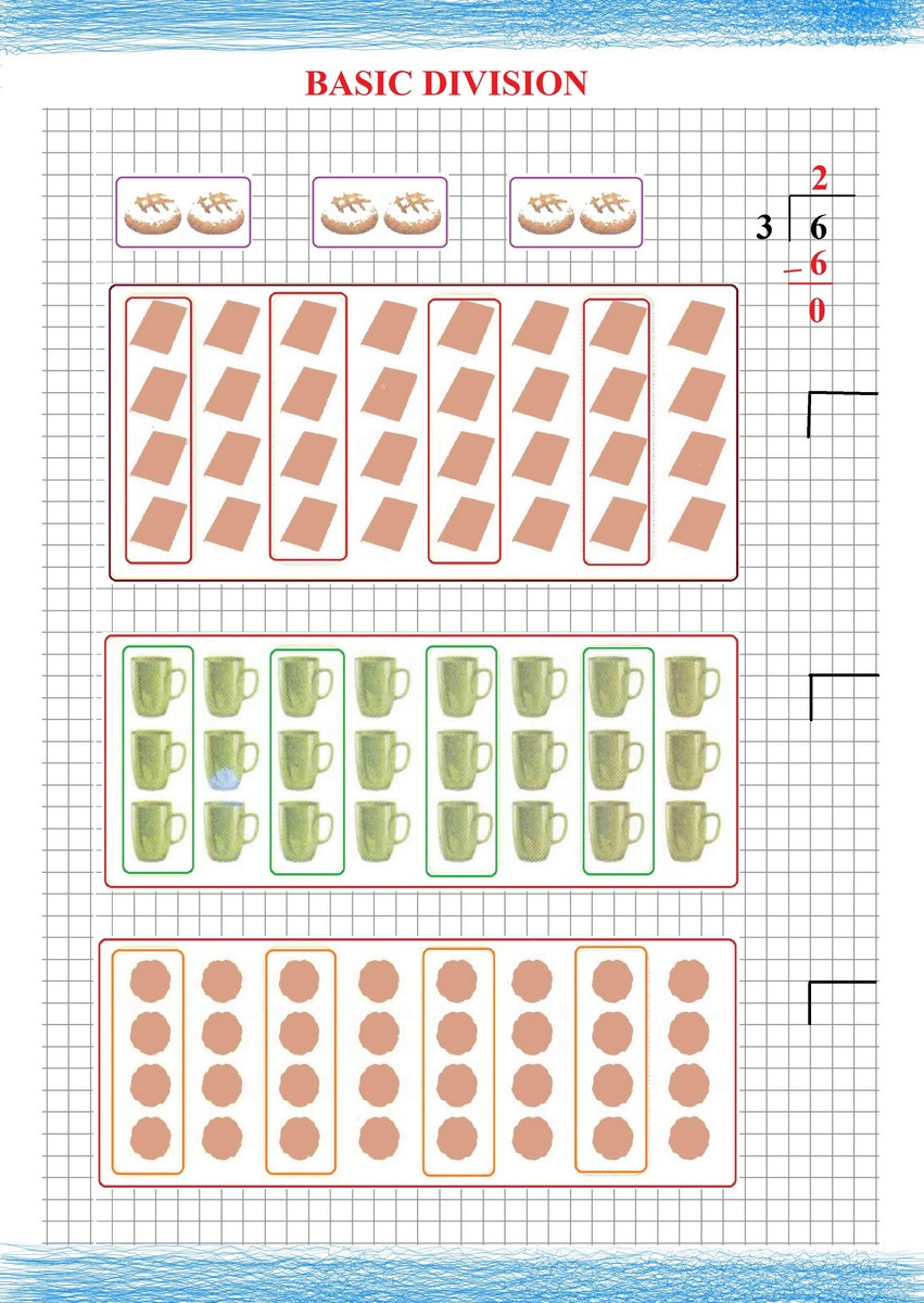 easy division - Free Math Worksheets