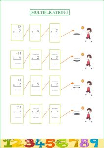 multiplication worksheet , multiplicación , feuille de travail de multiplication, лист умножения ,