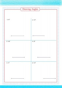 drawing angles worksheet