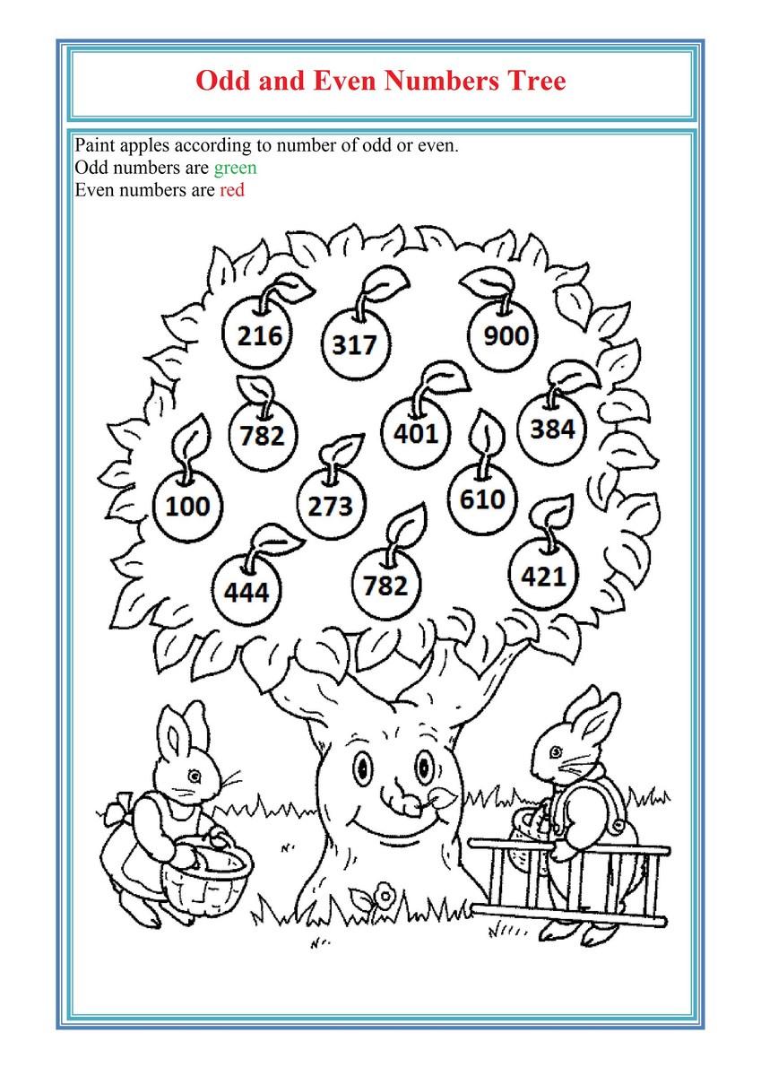 Worksheet Even And Odd Numbers Worksheets Worksheet Fun Worksheet