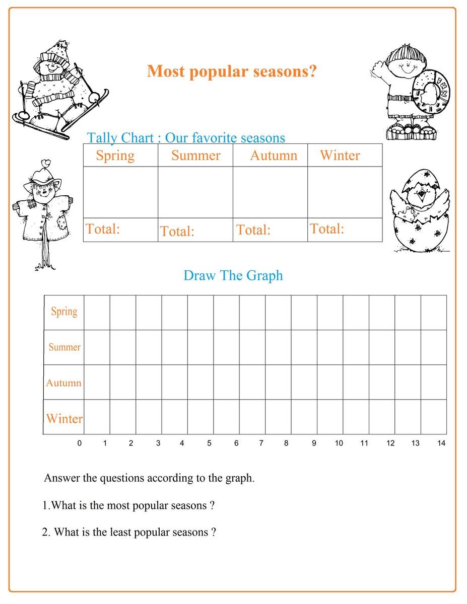 seasons chart worksheet free math worksheets. Black Bedroom Furniture Sets. Home Design Ideas