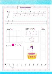number one worksheet pdf, numbers worksheets , counting number worksheet, drawing number worksheets,