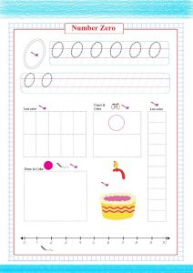 number zero worksheet , numbers worksheet , чисел , números ,  Nombres