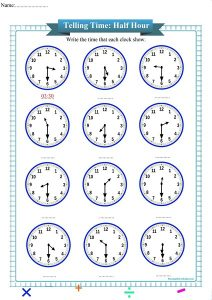 telling time worksheet pdf,