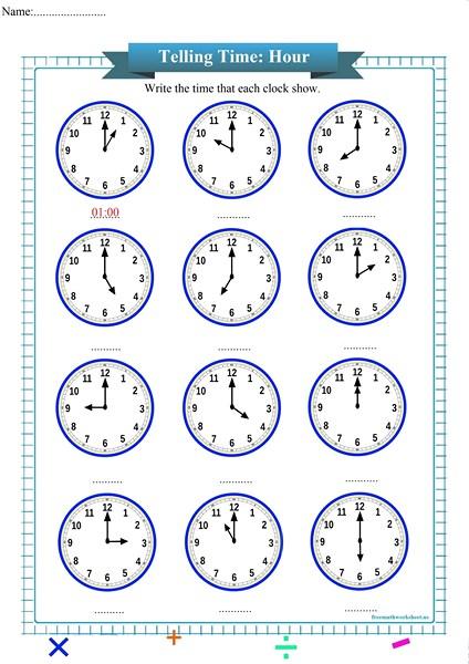 telling time worksheet pdf,