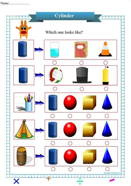 cylinder worksheet pdf,
