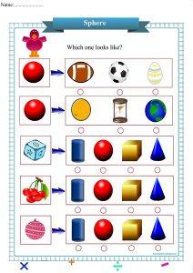sphere worksheet pdf,