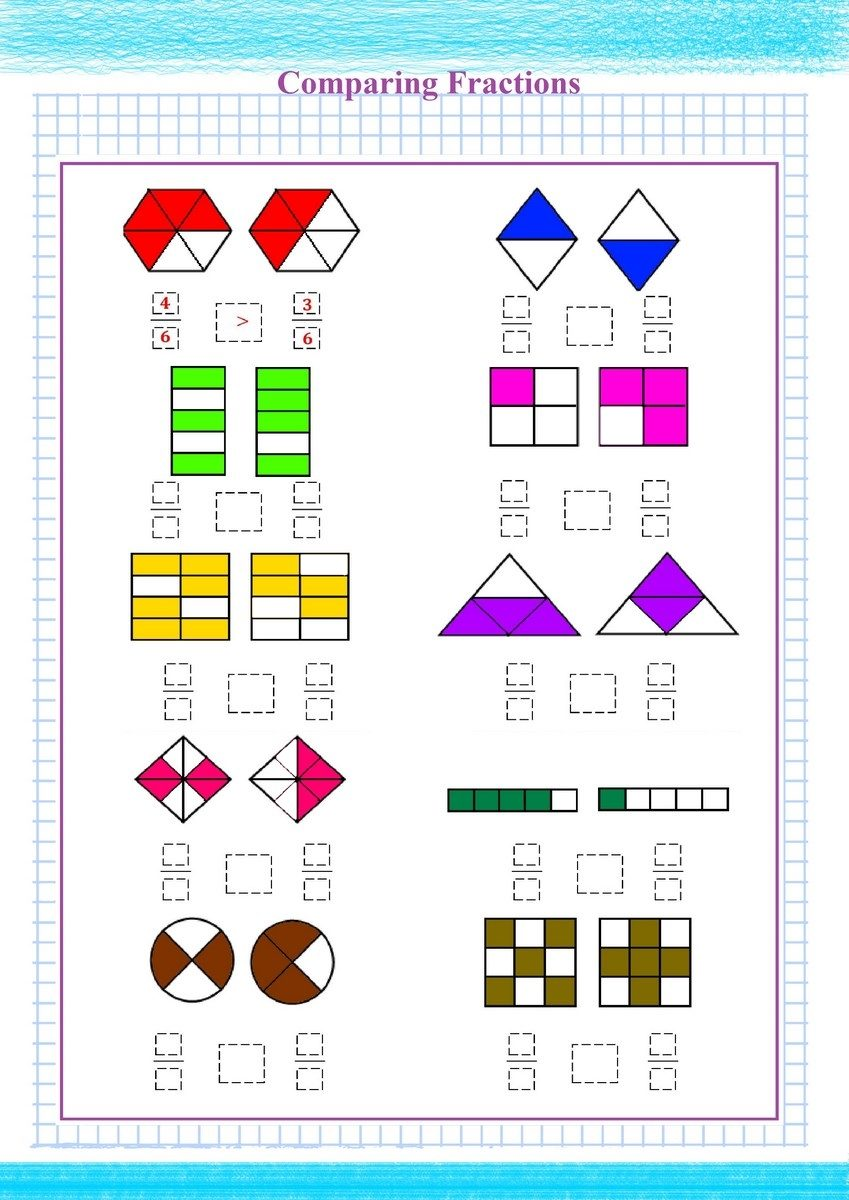 Comparing Fractions pdf