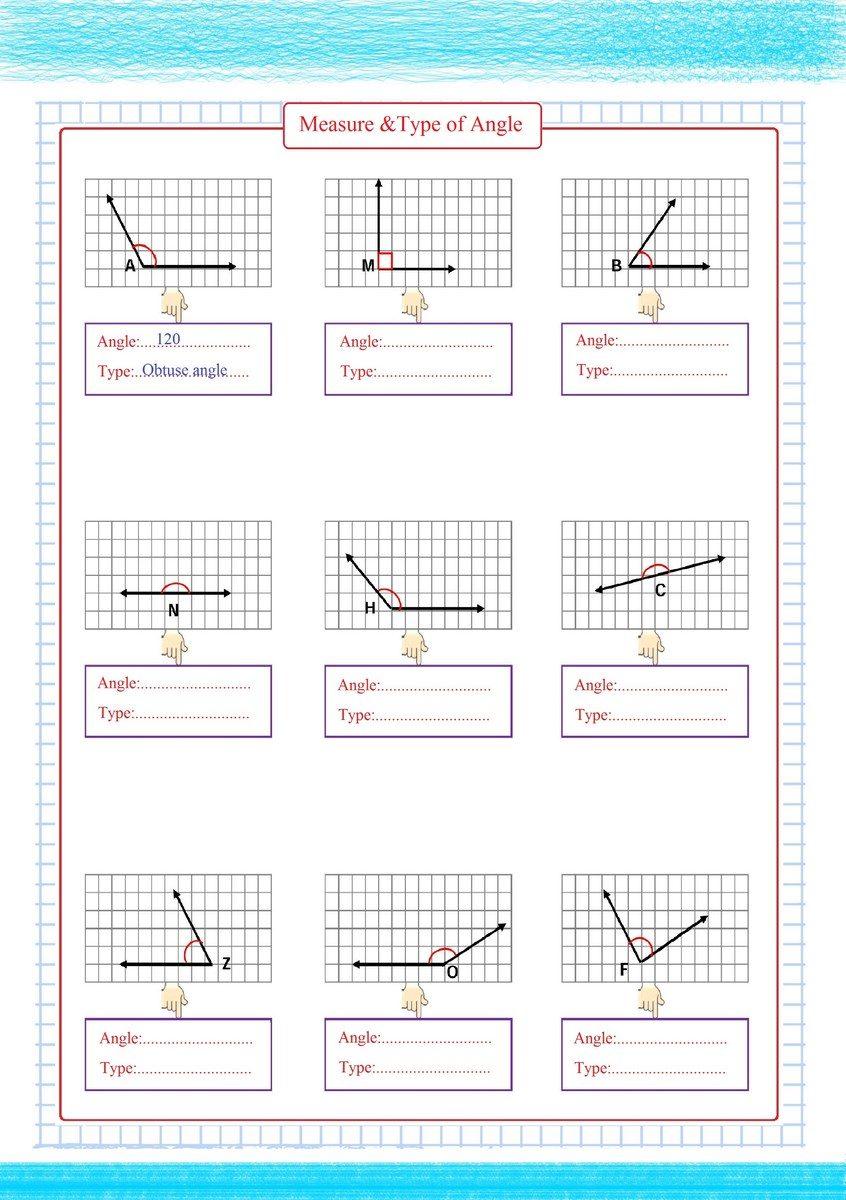 Measure & Type of Angles pdf