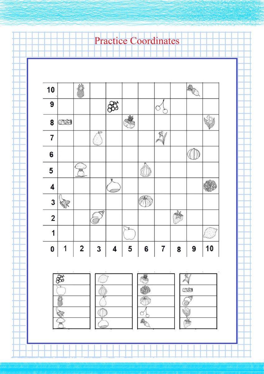 Practice Coordinates PDF